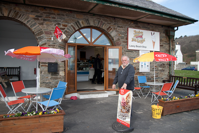 Laxey Beach Stop Cafe
